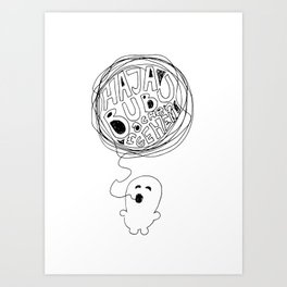 nice to sleep Art Print