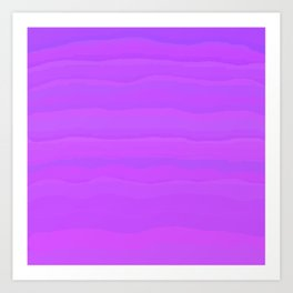 Purple Mountain Majesty Art Print