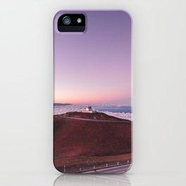 Telescopes on Mauna Kea Summit iPhone Case