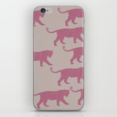Pink Tigers iPhone & iPod Skin