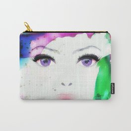 Wide Eyed Carry-All Pouch