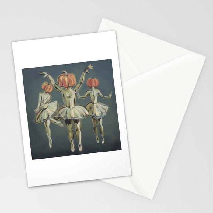 Pumpkin Bunheads Stationery Cards