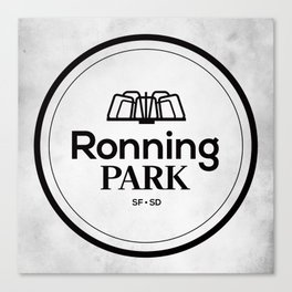 Ronning Park Canvas Print