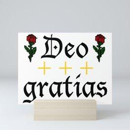 Deo Gratias 01 Mini Art Print