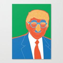 Donald Just Jokes Canvas Print