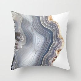 Dreamy Agate Throw Pillow