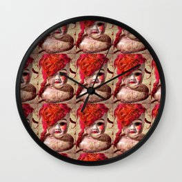 "Dollpocalypse: ""Fashionably-Late Lilith"", the Fallen Starlet Wall Clock"