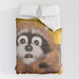 Raccoon Series: Running Scared Comforters