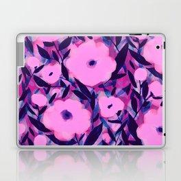 Layered Leaf Floral Pink Laptop & iPad Skin