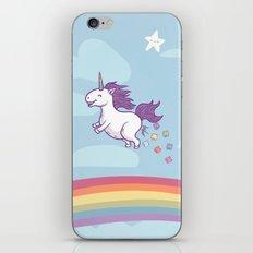 Unicorn - Too Much Corn! iPhone & iPod Skin