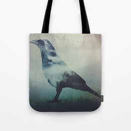 A Crow Left of the Murder Tote Bag