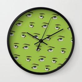 eyeroll forever Wall Clock