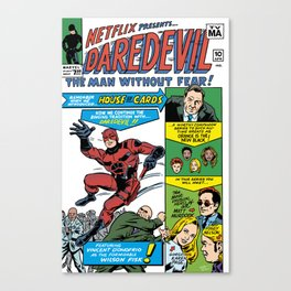 Netflix Presents Daredevil Canvas Print