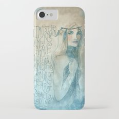 I must be a mermaid iPhone 7 Slim Case