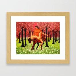 GARO - centaure Framed Art Print