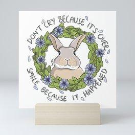 Bruce the Rabbit Mini Art Print