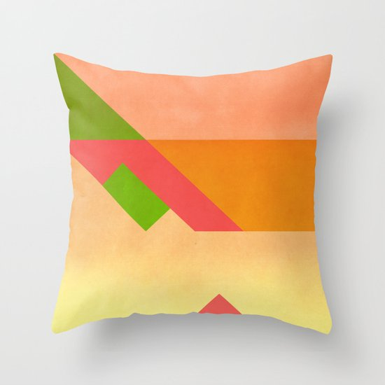 Match  Throw Pillow