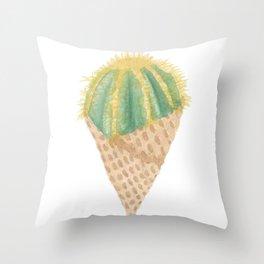 Cactus Scoop Throw Pillow