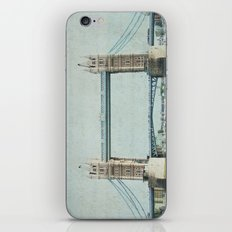 Letters From the Tower Bridge - London iPhone & iPod Skin