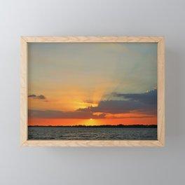 Go in for the Kiss Framed Mini Art Print