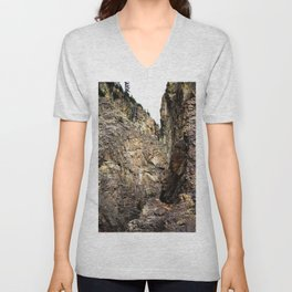 In Eureka Gulch, High Above the South Fork Animas River Unisex V-Neck
