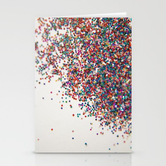 Fun II (NOT REAL GLITTER) Stationery Cards