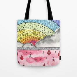 Pain Into Power Tote Bag