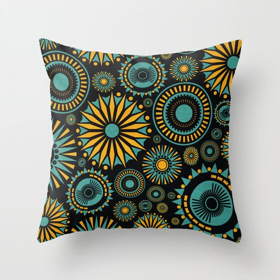 All That Jazz Throw Pillow