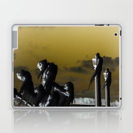 icicle lamp and tree - inverted Laptop & iPad Skin