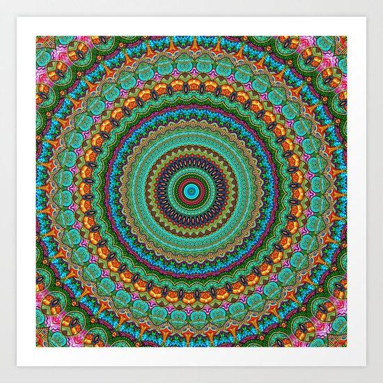 bohemian rhapsody  Mandala Art Print