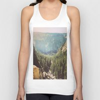 the mountains are calling Tank Tops featuring The Mountains Are Calling by Madeleine Johnson