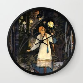 Vivid Retro - Vasilisa Wall Clock