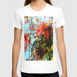 Floreal Abstraction T-shirt