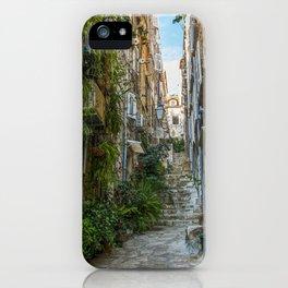 Stairs of Dubrovnik - Croatia iPhone Case