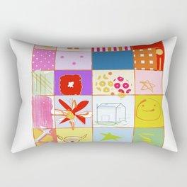 SUMMER QUILT Rectangular Pillow