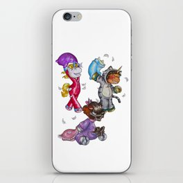 Pillow Fight iPhone Skin