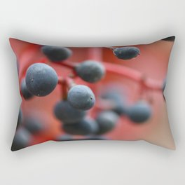 Red autumn 2 Rectangular Pillow