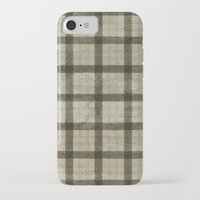 plaid iPhone & iPod Cases featuring Plaid by Joanne Anderson