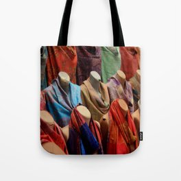 Pashmina Shawls Tote Bag