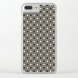 Clothes Pattern Clear iPhone Case