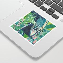 Jungle Jaguar Sticker