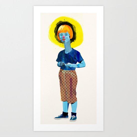 The Kid Art Print