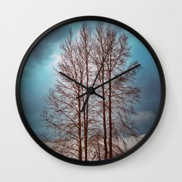 By The River Banks Wall Clock