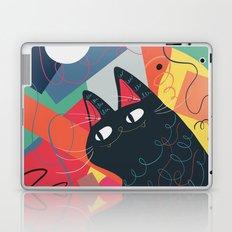 Trumpet Cat Laptop & iPad Skin