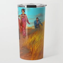 Searching of the Sunflower Samurai Travel Mug