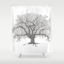 Tree 1 Shower Curtain