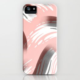 Pink Party Pattern iPhone Case