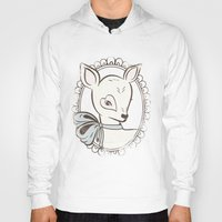 bambi Hoodies featuring BAMBI by TOO MANY GRAPHIX