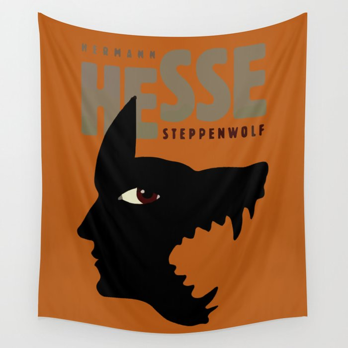 Sacred Geometry for your daily life - HHESSE STEPPEN WOLF Wall Tapestry