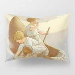 """Wynkin Blynkin and Nod"" by Margaret Tarrant Pillow Sham"